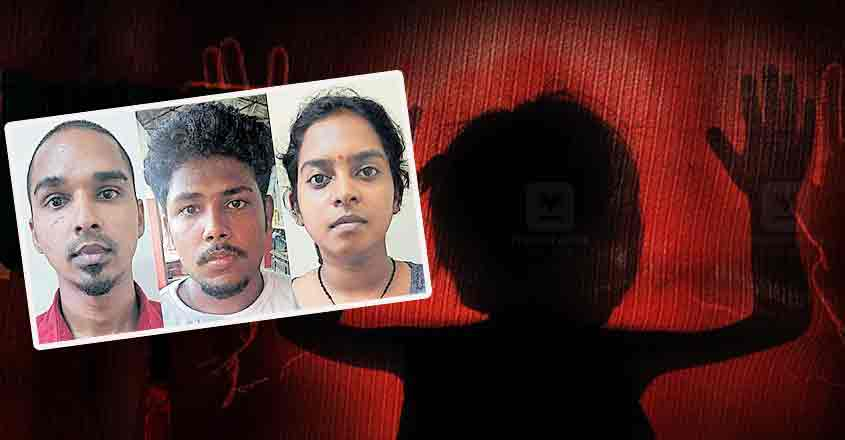 Couple among three held for raping 12-year-old girl, recording video