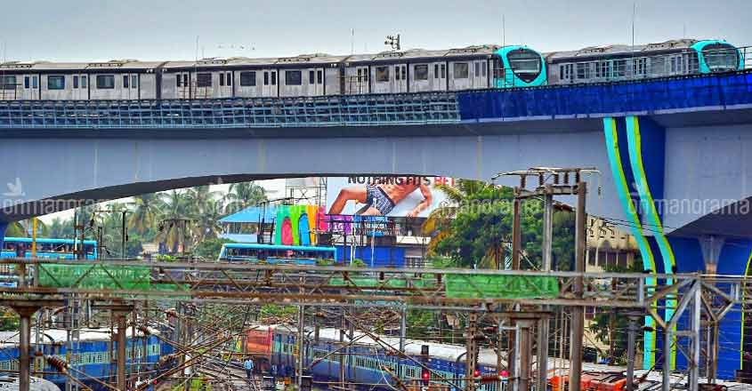 Kochi Metro holds successful trials ahead of extension to Thykoodam