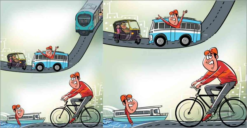 Hop on to bus, auto and metro in Kochi with one ticket! Unified system soon