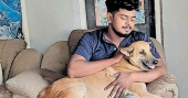 Dog tied to car & dragged along road: Cops to take strict action