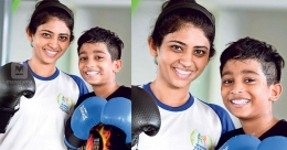 This Keralite woman & her son fight it out in the kickboxing arena