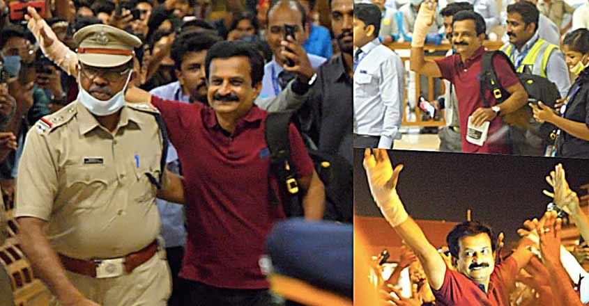 Rejith Kumar, fans booked for gathering at Kochi airport amid coronavirus  scare
