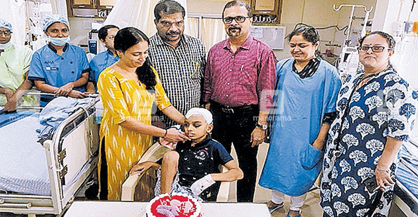 Boy badly injured in accident marks birthday in ICU