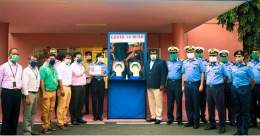 Walk-In Sample Collection kiosk becomes part of Navy's Sanjivani Hospital