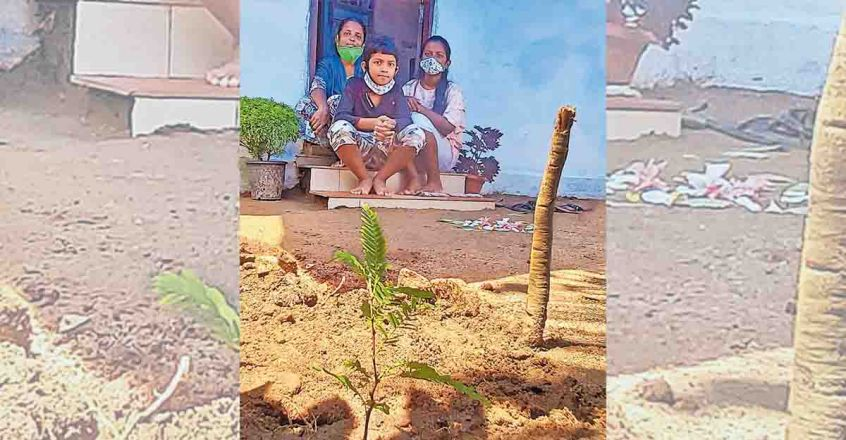 Cops gift saplings to cheer up class VI student in Ernakulam