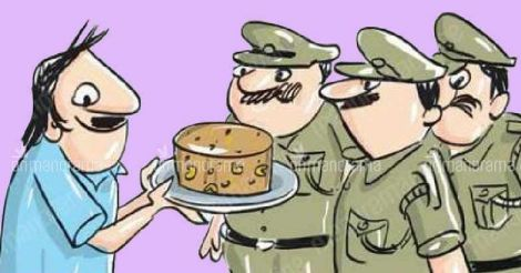 Farmer gifts a cake to the cops who fined him. Here's why