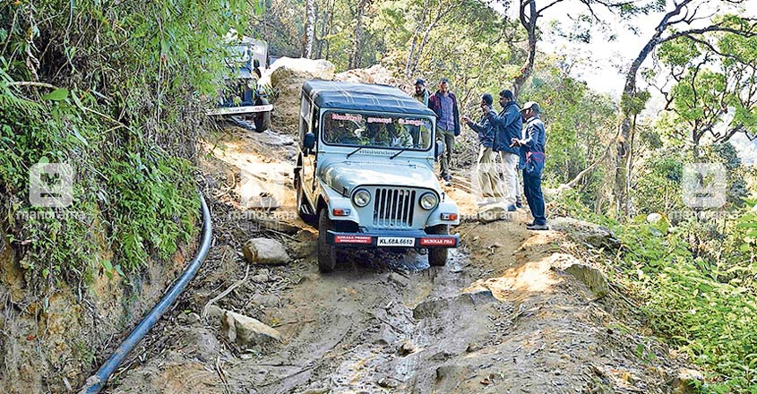 Tribals on foot may surpass jeeps trundling on this forest path