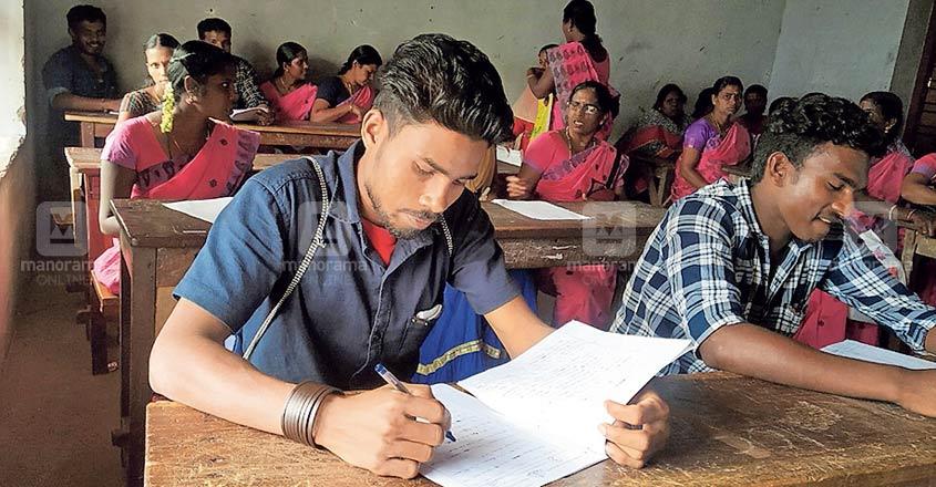Odisha native takes Literacy Mission exam in Malayalam