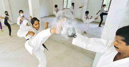 Karate candidate: LDF's lady representative from Karimannoor is a black belt holder