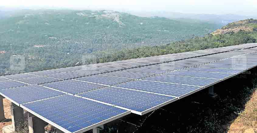 1MW of solar power to be generated at Ramakkalmedu from April