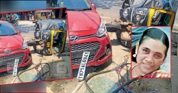 Mother of three killed as car ploughs into people at bus stop at Vimala City