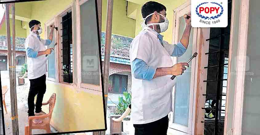 After 8 hours of duty, nurse Arun takes up odd jobs at Idukki hospital