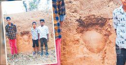 Children help unearth ancient burial urns in Kerala's Idukki