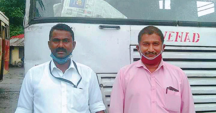 Two KSRTC employees save family of three from death