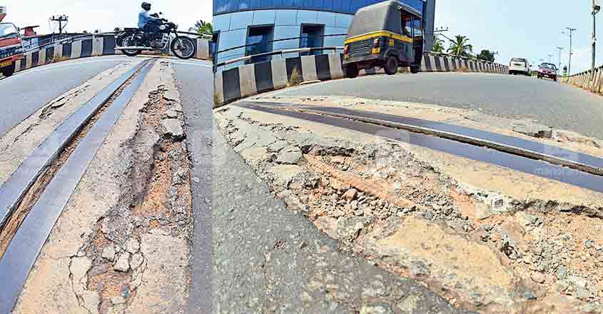 After Palarivattom flyover, another bridge in Kannur develops faults