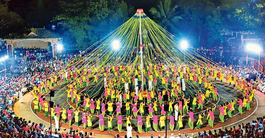 212 students set record performing folk art