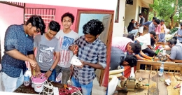 ITI students win hearts by fixing flood-damaged equipment