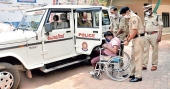 Kerala Police take differently-abled student to SSLC exam centre