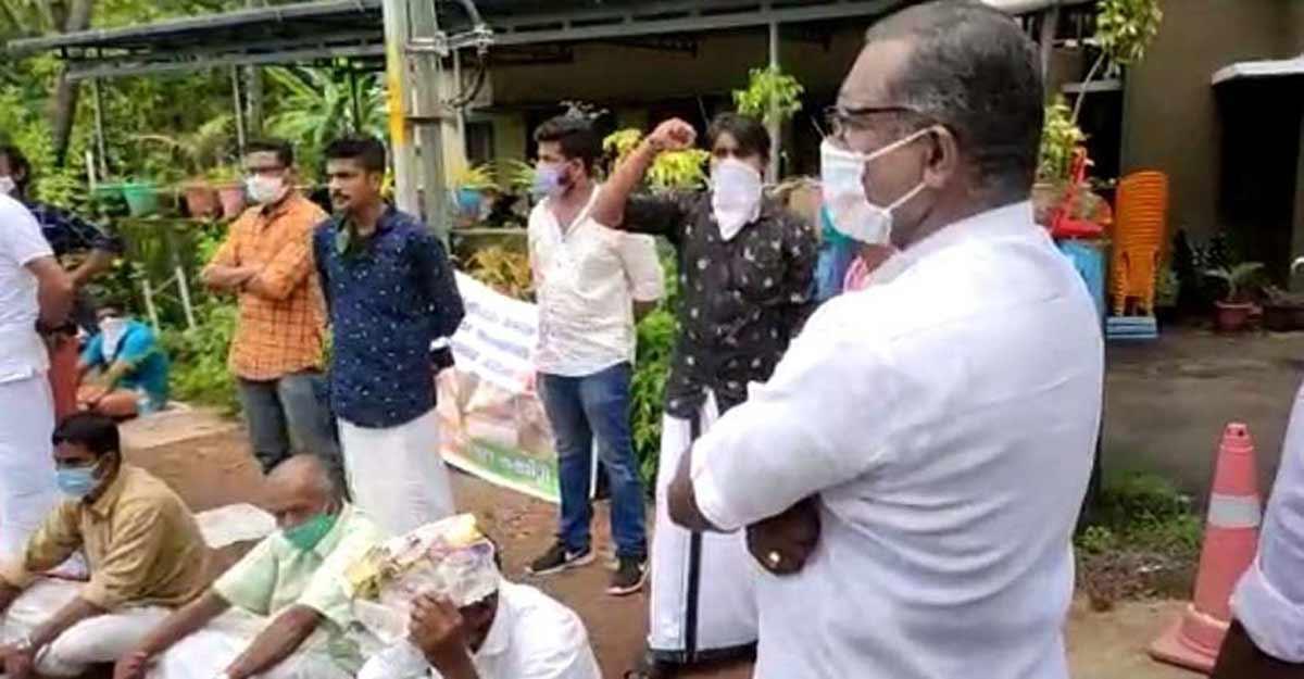 BJP raises provocative slogans against CPM in Kannur