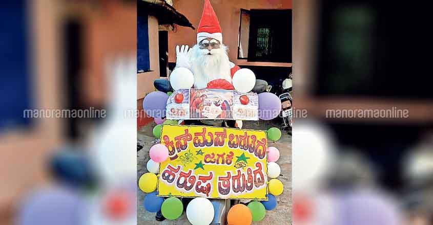 Farmer set for his 20th ride as Santa Claus