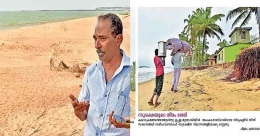 Sea washes away Gulf returnee's property, govt to blame?