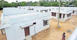 Villas ready for laundry workers of Alakkukuzhi in Kollam