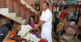 Great grandmother appears for literacy equivalency exam in Kollam