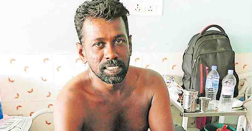Kerala fisherman back on shore after 18-hour struggle at sea