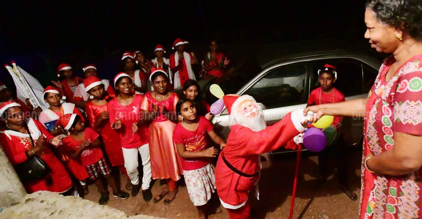 Women form carol group to raise money for friend's dialysis in Kottayam