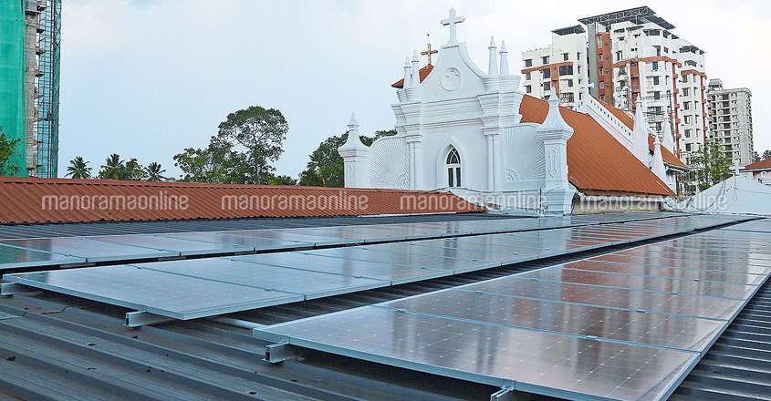 Kottayam church swears by solar enegy, to sell surplus