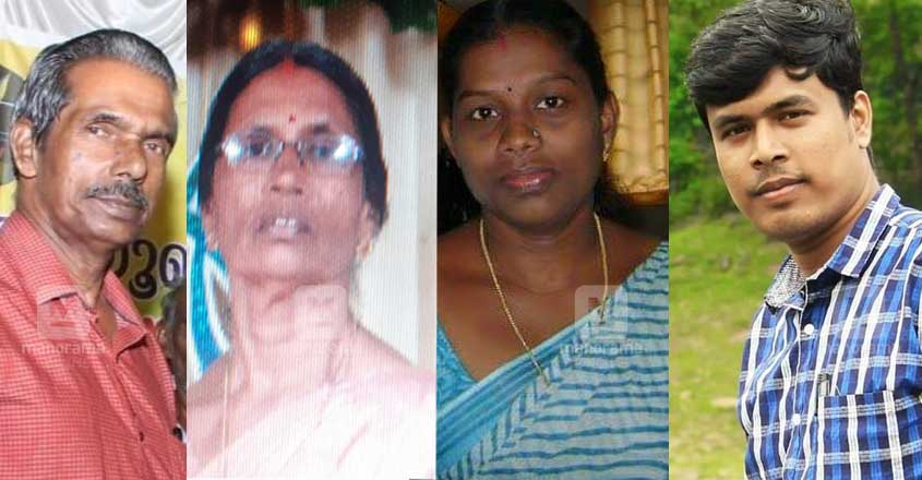 Four of a family killed as bus rams car at Vaikom