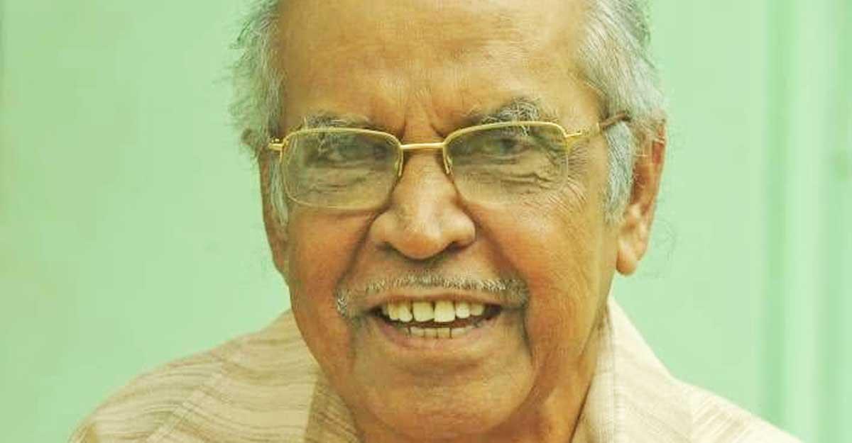 Former editor of Manorama Weekly, Padman, passes away in Kottayam