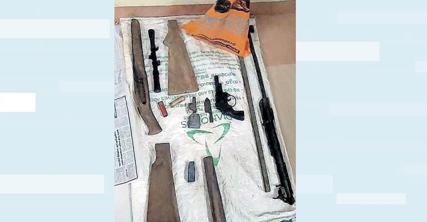 Illegal firearms units in Kottayam village under scanner of central agencies