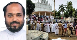 Missing priest found dead  in well of Kottayam church