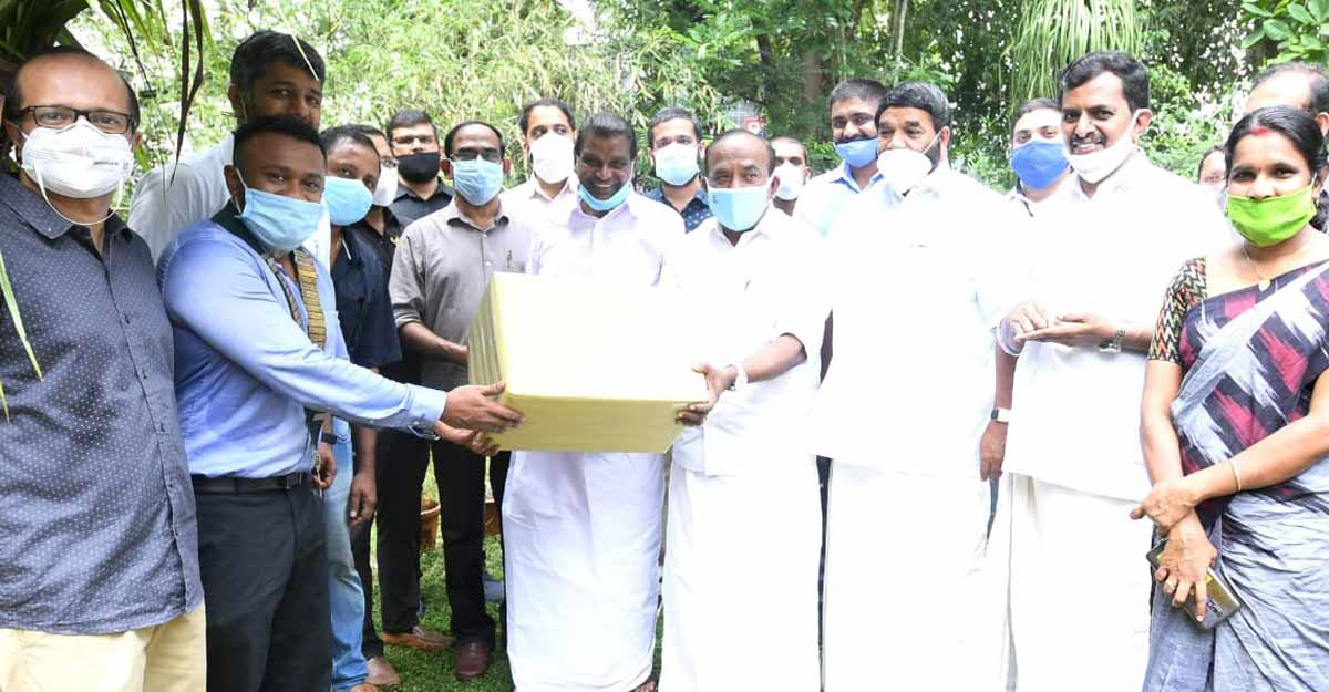 Round Table India Trust donates Covid protective gears to health workers in Kottayam
