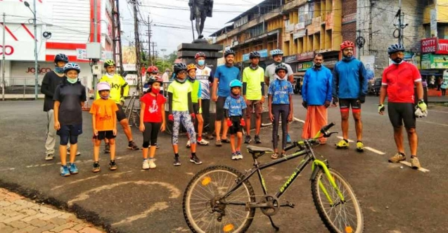 Kottayam Cycling Club rallies against COVID-19 with virtual ride this Independence Day