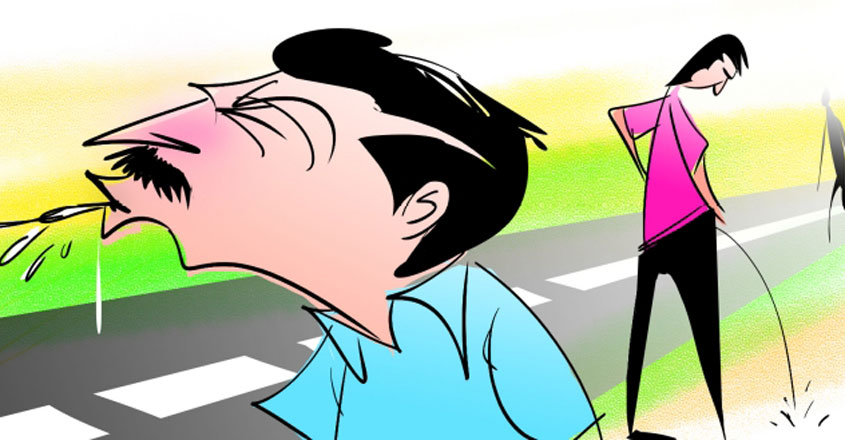 From today, cough up Rs 5,000 if you spit in public places in Kozhikode
