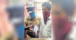 Emotional scenes at Nadapuram as workers return to Bihar