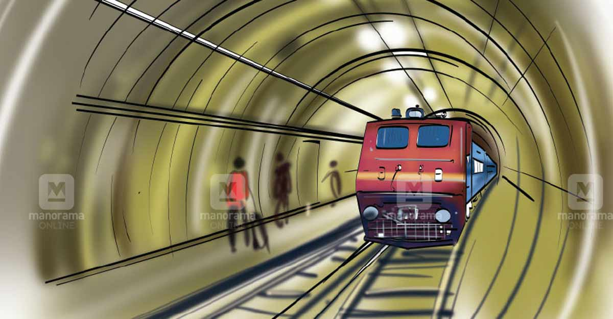Vega line railway station in Kozhikode to be underground