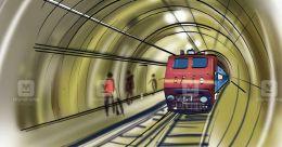 Vega line railway station in Kozhikode to be underground