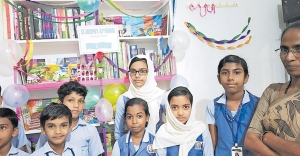 Koduvally students create 4,565 home libraries, read over 50,000 books!