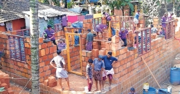 Youth outfit waives labour charge for building houses for poor