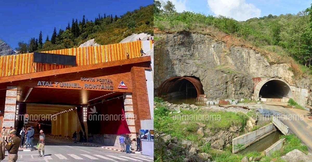 As the 9-km Atal gets inaugurated, Malayalis wonder about a 945m tunnel
