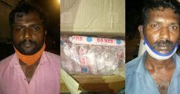 Big catch at Walayar check post -- over 7,000 gelatin sticks, detonators seized