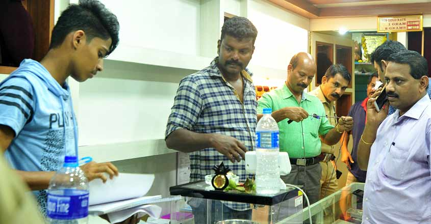 Maharashtra gang arrested for theft in Kerala jewellery