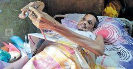 Bedridden man makes a spirited fight making seed pens