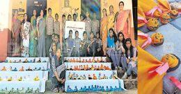 Students craft dolls to fund treatment of senior