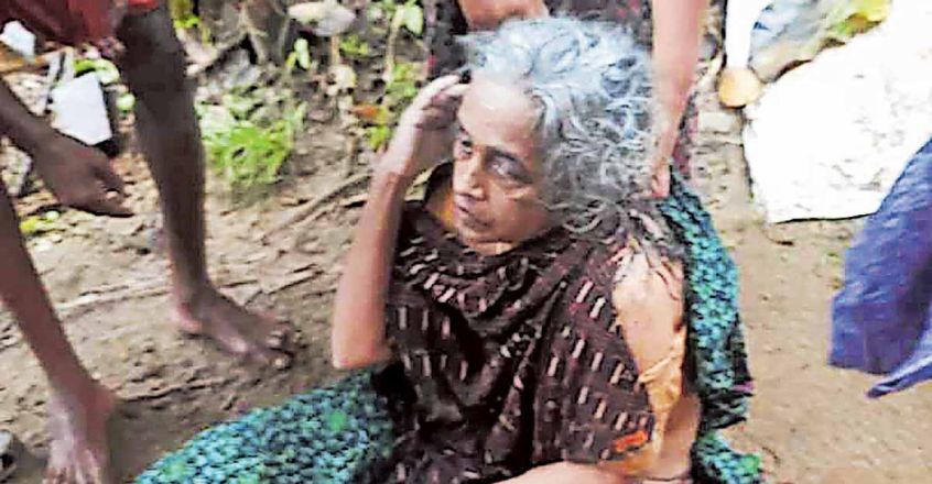 Woman falls in river, holds on to bamboo log before rescue 50km downstream