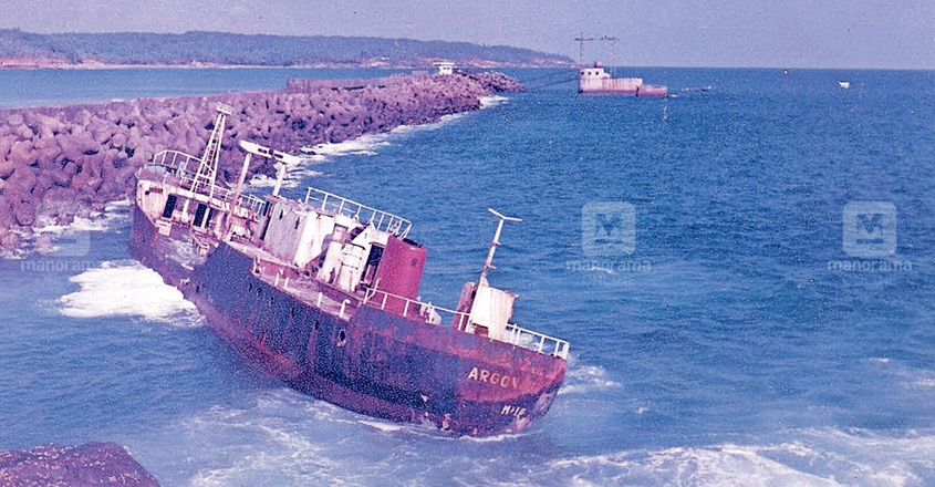 For 25 years, wreckage of vessel rests on Vizhinjam seabed