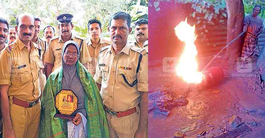 Brave 70-year-old saves lives, house by averting LPG blast